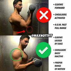correctnes arm exercises