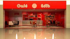 Render cafeteria edib. render edib coffee. #3dmax #architect