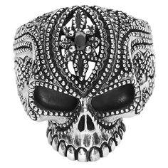 Tattooed Skull - Ring af etNox Premium