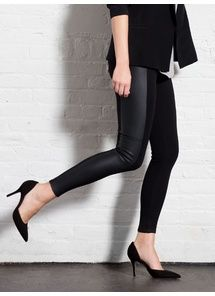 c21bad0d0ec Leather (Vegan) Ponte Legging Lysse Leggings