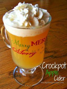 Crockpot Apple Cider Recipe