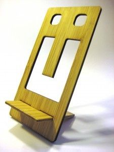 Cell phone stand. Beautiful design!