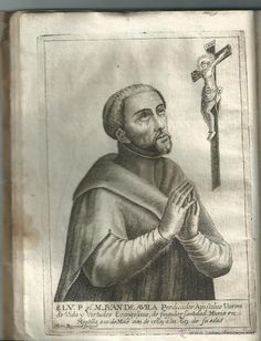 Libros antiguos: VIDA Y VIRTUDES DEL VENERABLE VARON MAESTRO JUAN DE AVILA. . EN MADRID IMP BERNARDO SIERRA 1673 - Foto 4 - 53687241