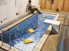 3D illusions: the pool by Man-Of-World
