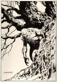 Swamp Thing by Bernie Wrightson #swampthing #dccomics #comic