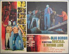 Santo y Blue Demon vs dracula y el hombre lobo  1972