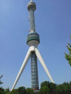 Tashkent TV Tower   Телебашня Ташкент v Toshkent, Toshkent Shahri
