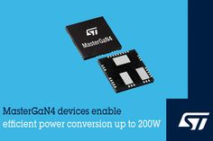 MasterGaN4 Power Packages from STMicroelectronics Power Electronics, Electronics Components, Driving Signals, Prototype Board, Hall Effect, Dc Dc Converter, Arm Cortex, Temperature Measurement, Consumer Marketing