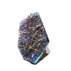 New drusy ring SummerCollection 2012