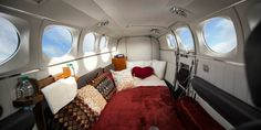 Mile High Club - Love Cloud is an airline service that promotes joining the mile high club to its passengers. Andy Johnson founded the Las Vegas-based airline servi. Las Vegas Tours, Private Flights, Air Charter, Private Plane, Luxury Travel, Cincinnati, Aircraft, Clouds, Design