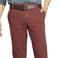 Washed Canvas Cloth Pant in Hickory: L.L.Bean Signature