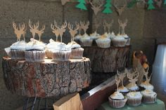 camping/hunting birthday party theme