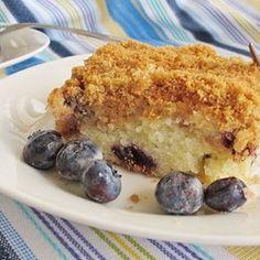 Sour Cream Blueberry Coffee Cake - Allrecipes.com