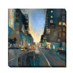 Artistic Liz Jardine 'Street Smart' Framed Giclee Art