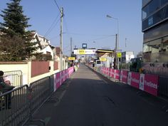 Finish-line of the prologue #ParisNice good luck for our @TeamSky riders!