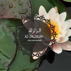 Az-ZalZalah Surah graphics