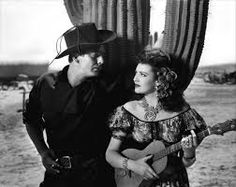 Victor Mature and Linda Darnell in My Darling Clementine, directed by John Ford, 1946 Hollywood Music, Hollywood Men, Hooray For Hollywood, Classic Hollywood, Katharine Ross, Julie Christie, Faye Dunaway, Western Movies, Western Film
