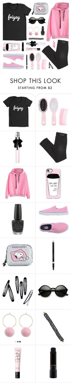 """""""Happy Weekend!"""" by lgb321 ❤ liked on Polyvore featuring Forever 21, Yves Saint Laurent, Casetify, OPI, Vans, LeSportsac, Gucci, H&M, ZeroUV and NARS Cosmetics"""