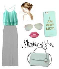 """Shades of You: Sunglass Hut Contest Entry"" by nandamennaberton ❤ liked on Polyvore featuring Tiffany & Co., MICHAEL Michael Kors, ban.do, Lime Crime and shadesofyou"