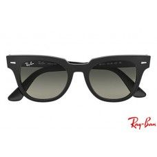f750050e5e844 Ray Bans RB2168 Meteor Classic with Black frame and Grey Gradient lenses  Clubmaster Sunglasses