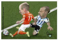 #Argentina #Holanda #CopaFifa2014