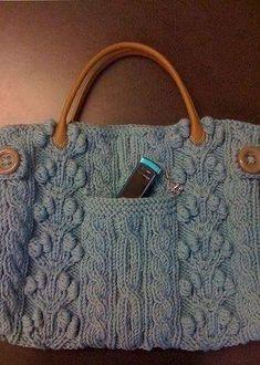 Galería: Bolsos Tejidos a la Moda | CTejidas [Crochet y Dos Agujas]
