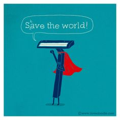 (Almost)Save the world by ILoveDoodle, via Flickr