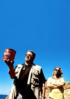 The Big Lebowski - funny scene - walter and The Dude are about to scatter donny's ashes