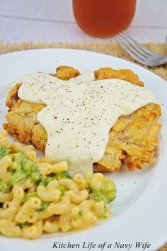 The Kitchen Life of a Navy Wife: The BEST Chicken Fried Steak (Seriously!)