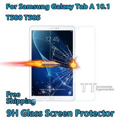 Tempered Glass Screen Protector For Samsung Galaxy Tab A 10.1 T580 T585 tablet,T580N T585 Screen Protector,Free shipping. Yesterday's price: US $8.50 (7.04 EUR). Today's price: US $7.74 (6.41 EUR). Discount: 9%.
