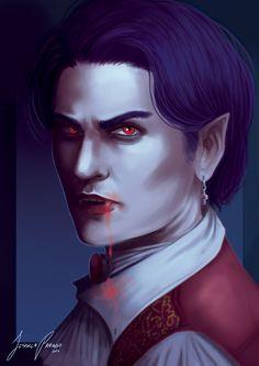 Vampire by Jessica-Prando.deviantart.com on @DeviantArt