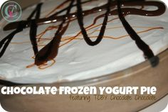 TCBY Chocolate Chocolate Frozen Yogurt Pie #TCBYGrocery #CBias