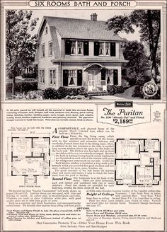 William A Radford 1908 House Plans Dutch Colonial Revival