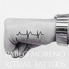 cool Top 100 heartbeat tattoo - http://4develop.com.ua/top-100-heartbeat-tattoo/