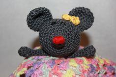 Schmusetücher - Schuffeltuch Mausi Maus - ein Designerstück von bastelmaus19 bei DaWanda