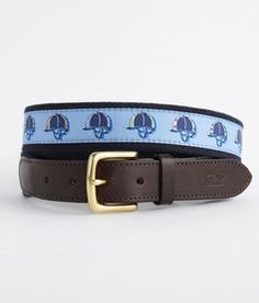 Patterned Helmets Canvas Club Belt