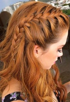 Braided fringe.