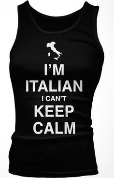 I'm Italian. I can't keep calm! Can't wait to get this in the mail :)