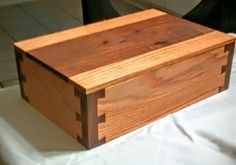 my dovetail boxes