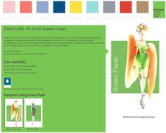 PANTONE Spring 2016 15-0146 Green Flash