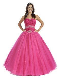 Cute pink long puffy sparkly prom dress  wedding lingerie ...
