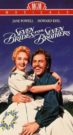 Seven Brides for Seven Brothers ~ Bless your Beautiful Hide!  In the late 70s, I saw Jane Powell and Howard Keel do this live at the Dallas Summer Musicals.  A little older, but they were fantastic!