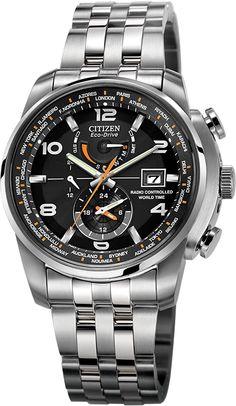 Citizen World Time A-T #WatchWednesday