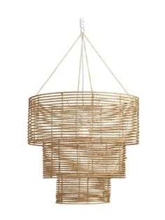 Three-Tier Chandelier by Selamat Designs at Gilt