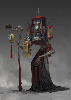 ArtStation - work-011, LIGHT GYZJ