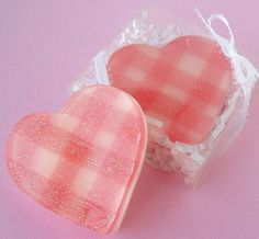 Soapy Love - Gingham Sweetheart
