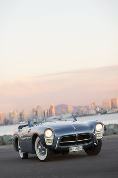 1954 Pegaso Z 102 Series II Cabriolet  // The Spanish company Pegaso is well-known for its trucks, busses and tractors but many people don't know that for a period of 7 years, the marque took a jaunt into the world of sportscar building – resulting in this, the Pegaso Z-102. - via Silodrome