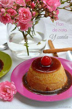 Con sabor a canela: Flan de nata y canela