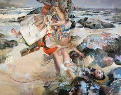 art blog - Kent Williams - empty kingdom