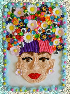 Girl with the Flower: Cake Selfie